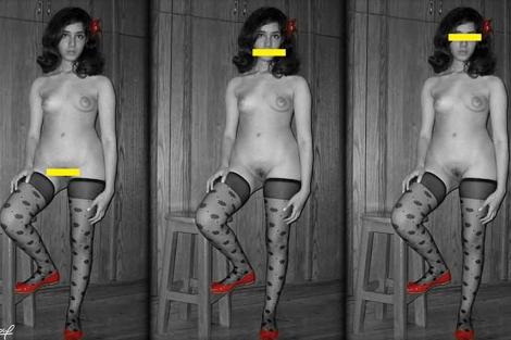 Las mujeres desnudan y bailan desnudas